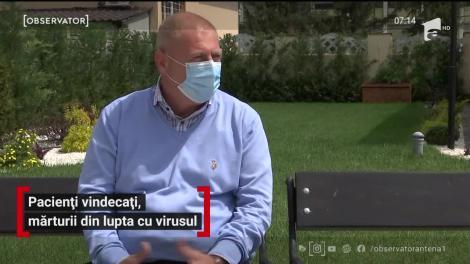 Pacienți vindecați, mărturii din lupta cu virusul ucigaș