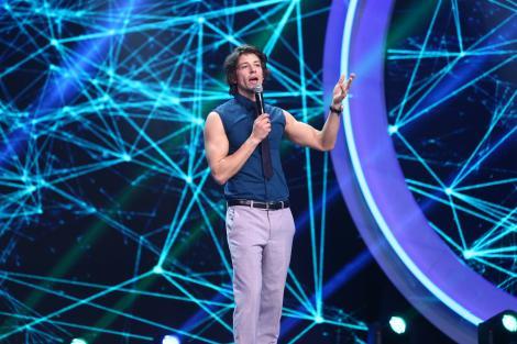 Paul Diaconescu, neterminatorul de glume, număr de stand up comedy la iUmor