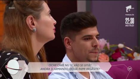 """Andra a revenit în casa Mireasa! Declarații bombă! Confruntare cu Armando și Raluca: """"Am suferit atunci când am văzut sărutul lor"""" - VIDEO"""