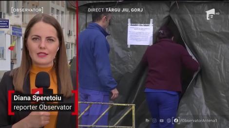 Focar de coronavirus în Spitalul Județean Târgu Jiu