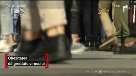 Semnal de alarmă tras de medici! Tot mai mulţi români care suferă de obezitate pierd lupta cu Covid-19