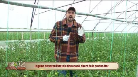 Producătorii de legume de sezon și-au mutat afacerile în online: Livrăm produsele acasă!