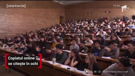 Inteligenţă artificială şi softuri specializate, cu ochii pe privirea studenţilor care vor să copieze