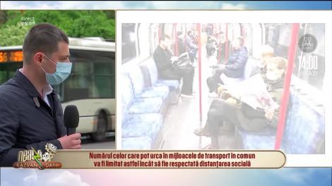 Reguli pentru transportul în comun din 18 mai