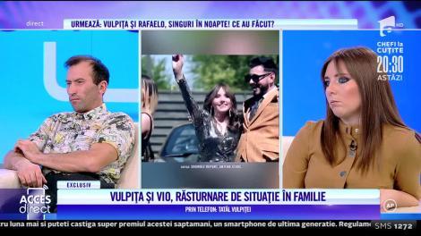 Tatăl Vulpiței, de acord cu divorțul fiicei lui de Viorel: Dacă nu mai poate trăi cu el... S-a plâns că el o bate