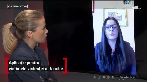 Aplicație pentru victimele violenţei în familie