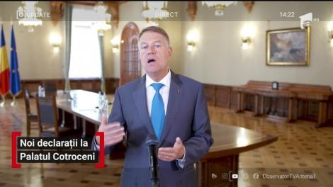 Președintele Iohannis, declarații despre deficitul bugetar