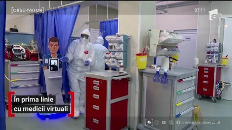 Personalul din Unitatea de Primiri Urgenţe a Spitalului Judeţean din Timisoara se bucură de ajutor virtual