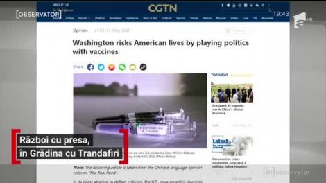 Ziua şi criza la Casa Albă. Donald Trump a părăsit o conferinţă de presă, iritat de o jurnalistă de origine chineză