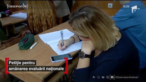 Petiție pentru amânarea evaluării naționale