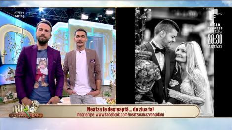Neatza cu Răzvan și Dani te deşteaptă... de ziua ta! La mulți ani, Claudia!