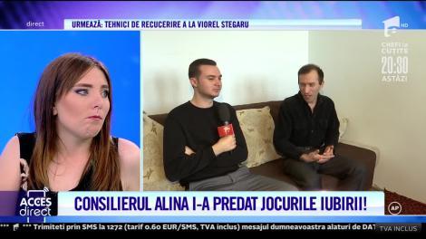 Consilierul Alina Petre i-a predat lui Viorel jocurile iubirii