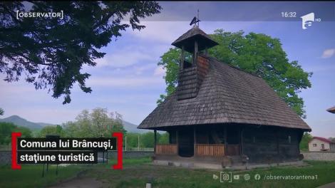 Comuna lui Constantin Brâncuși, stațiune turistică