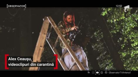 Alex Ceaușu, regizorul preferat de vedete, videoclipuri în izolare