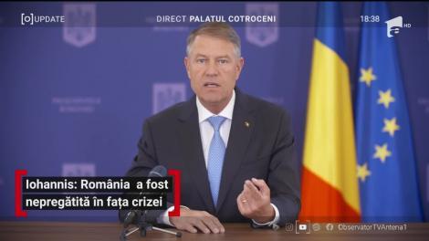 Klaus Iohannis, mesaj petru români