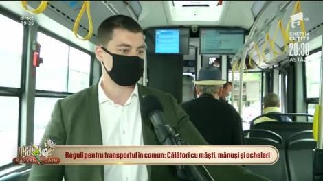 Călătoria cu autobuzul în vremea pandemiei. Cum să nu ne infectăm pe traseu
