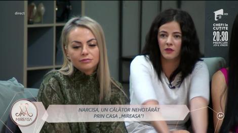 Narcisa Pruteanu și-a mutat patul din camera lui Ciprian Vlad!