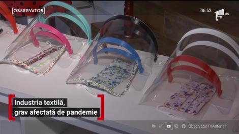 Industria textilă, grav afectată de pandemie
