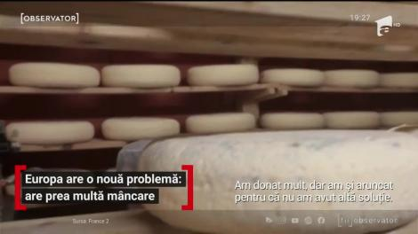 Mii de tone de mâncare ajung zilnic la gunoi, în toată Europa. Pandemia a adus industria alimentară într-o criză fără precedent