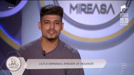 Armando a sărit să-l bată pe Lică! Nervii au explodat în casa Mireasa! De la ce a pornit totul