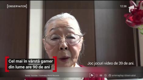 Cel mai în vârstă gamer din lume are 90 de ani