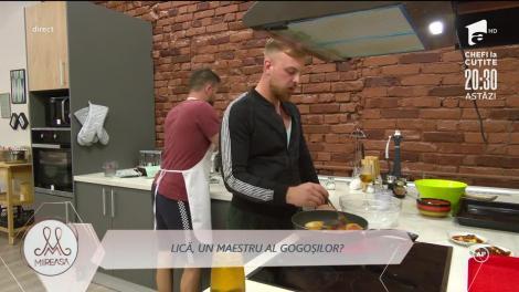 """Vasile Turnău (Lică), bucătarul șef din casa """"Mireasa""""! A făcut gogoși pentru Alexandra (Ale)!"""