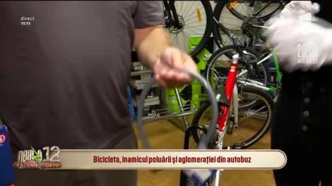 Bicicleta, inamicul poluării și aglomerației din autobuz