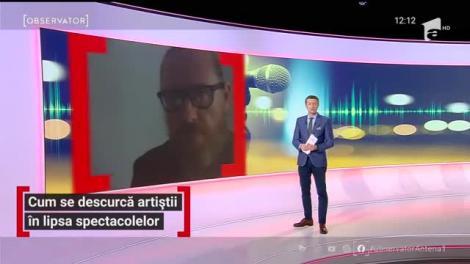 Cum se descurcă artiștii în lipsa spectacolelor