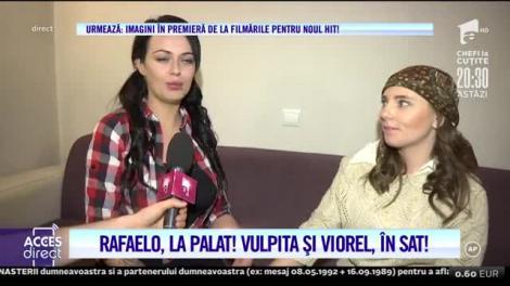 Nou HIT! Rafaelo, la palat! Vulpiţa şi Viorel, în sat!  Imagini în premieră de la filmările pentru videoclipul soților Stegaru