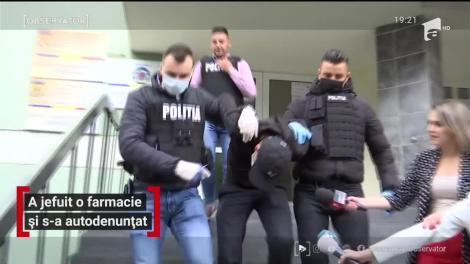 Un tânăr a jefuit o farmacie din Timişoara, iar după câteva zile s-a predat