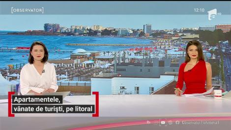 Apartamentele, vânate de turiști, pe litoral