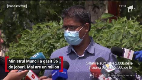 Ministrul Muncii Violeta Alexandru le-a găsit oferte de muncă pe alese celor 36 de cetăţeni din Sri Lanka, abandonaţi pe Aeroportul Otopeni