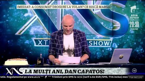 Bianca Drăgușanu, tort surpriză pentru Dan Capatos: La mulți ani!