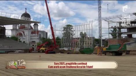 Euro 2021, pregătirile continuă! Cum arată Stadionul Arcul de Triumf