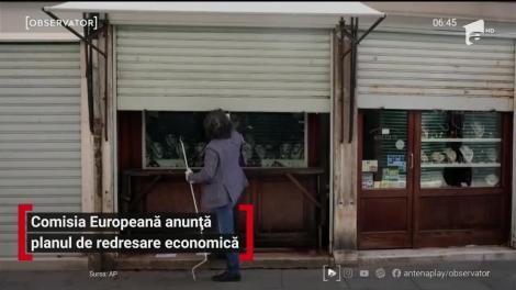 Comisia Europeană anunță planul de redresare economică