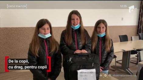 Mai mulţi elevi ai unei şcoli din Capitală au lansat o campanie specială prin care donează gadgeturi