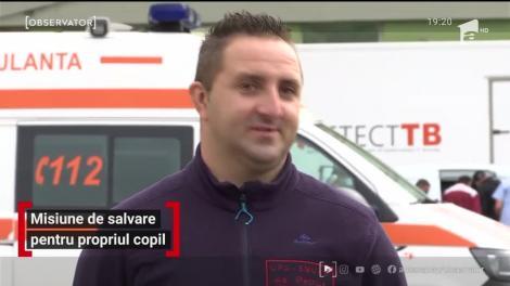 Un salvator SMURD a aflat chiar înainte de misiune că urmează să-şi salveze propriul copil. Băiatul de patru ani fusese lovit de o maşină