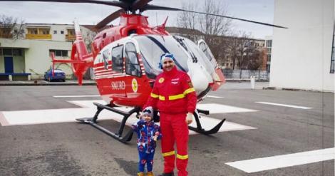 """A fost medic înainte de toate! Sebastian, asistentul SMURD chemat să-și salveze propriul copil, mărturii emoționante: """"Mi-am văzut fiul lovit de o mașină!"""""""