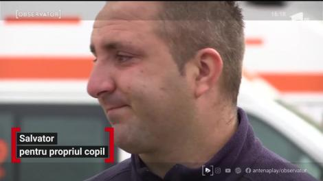 Un asistent SMURD din Timişoara, salvator pentru propriul copil, victimă a unui accident