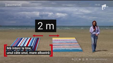 Reguli noi pe litoral: sezlongurile nu vor mai fi puse unul lângă altul