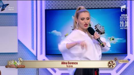 "Alina Sorescu cântă melodia ""Tu și eu"""