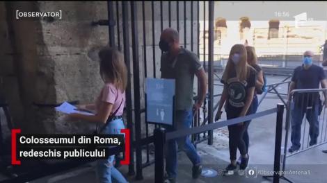 Colosseumul din Roma, redeschis publicului