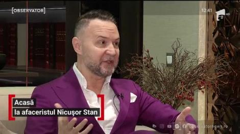 Cum arată casa lui Nicuşor Stan. Afaceristul are în dressing peste 500 de costume