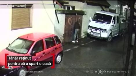 Un tânăr băut din localitatea Coldea a forţat poarta şi uşa unei case şi a intrat peste o familie
