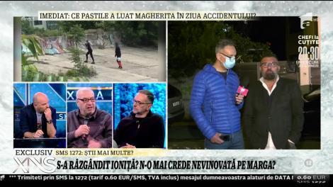 Ioniță de la Clejani: Margherita este foarte afectată