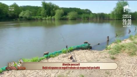 Atenție pescari! Regulile pe care trebuie să le respectați pe baltă sunt extrem de stricte
