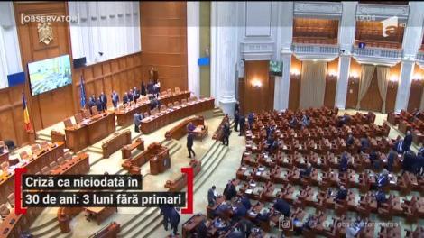 Criză ca niciodată în 30 de ani. În două săptămâni România devine neguvernată la nivel local