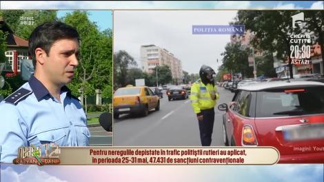 Amenzile în trafic revin în forță! Carantina i-a făcut extrem de grăbiți pe șoferii din România! Polițiștii au suspendat 4.700 de permise într-o săptămână