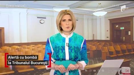 Alertă cu bombă la Tribunalul Bucureşti