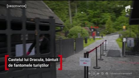 Castelul lui Dracula, bântuit de fantomele turiștilor